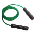 Corde à sauter ajustable verte