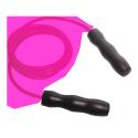Corde à sauter ajustable rose